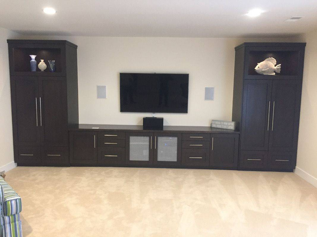 Theatre Room Custom Cabinets | Holland, MI